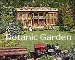 A scene from one of the Chicago Botanic Garden's 12 railways